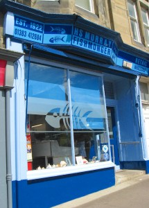 My new favorite fish mongers, H.S. Murray in Inverkeithing