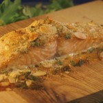 Oven Planked Salmon - Moist & Flavourful